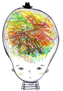 How my brain feels after the awesome processes of the past few weeks...long run helped
