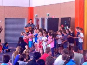 The primary waiata at the start of the day.