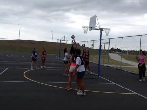 Netball against Te Raki Pae Whenua (Nth Harbour Maori)