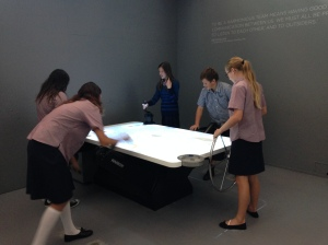 Interactive exhibitions